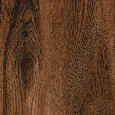 Take Home Sample - Allure Ultra Wide Red Hickory Resilient Vinyl Plank Flooring - 4 in. x 4 in.