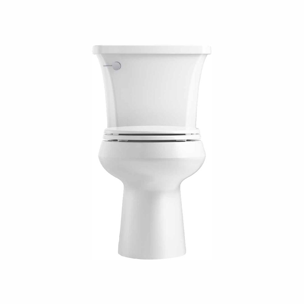 Outstanding Kohler Highline Arc The Complete Solution 2 Piece 1 28 Gpf Single Flush Round Front Toilet In White Slow Close Seat Included Dailytribune Chair Design For Home Dailytribuneorg