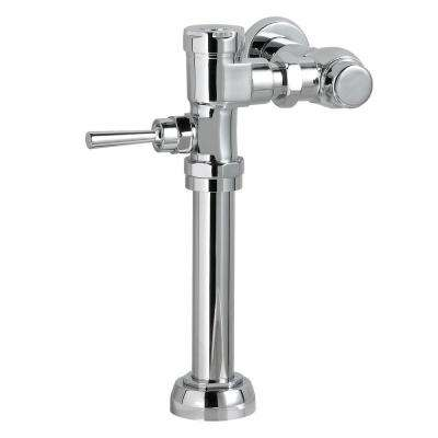 Manual 1.6 GPF Exposed Flushometer for 1-1/2 in. Top Spud Commercial Toilet Bowl