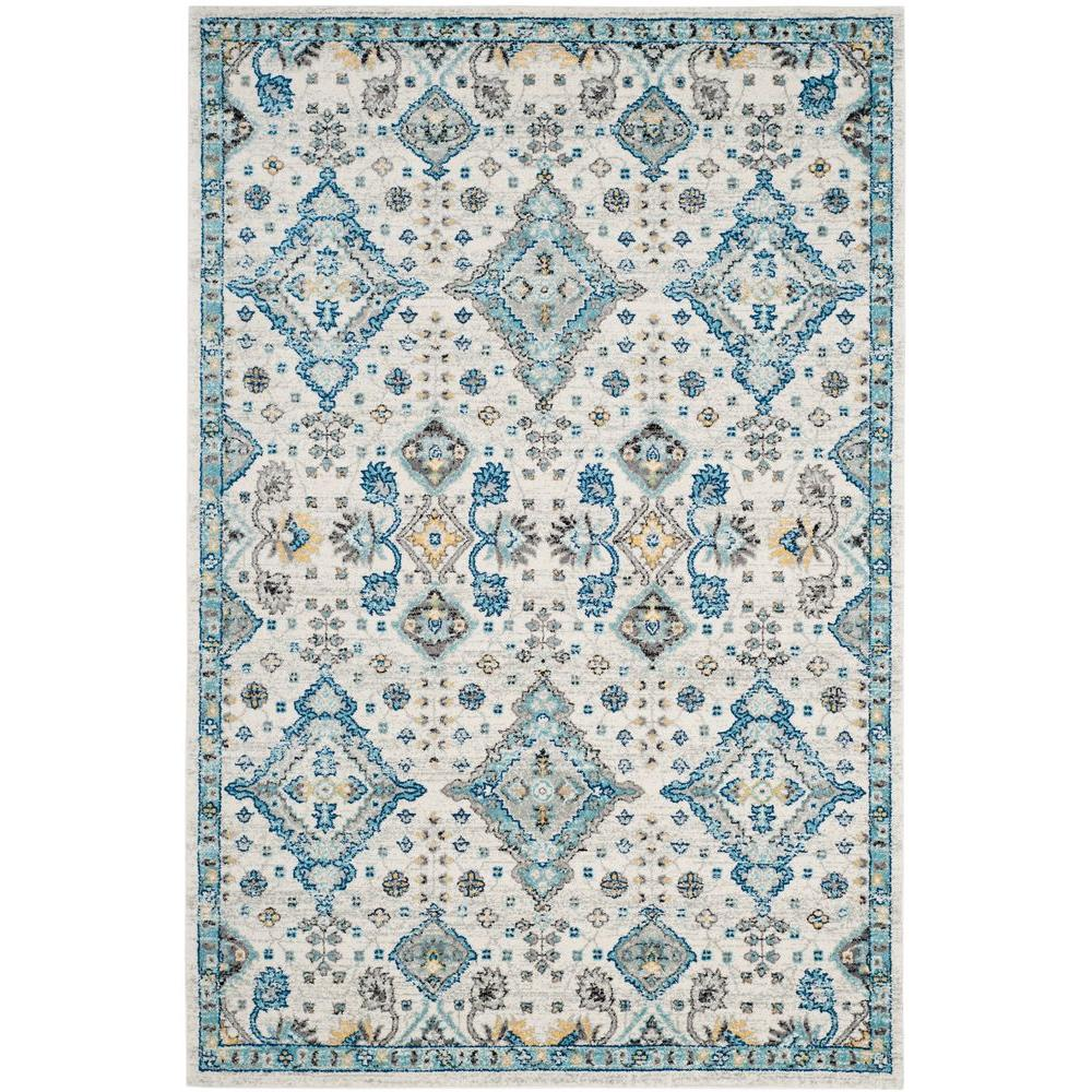 Safavieh Evoke Ivory Light Blue 5 Ft X 8 Area Rug