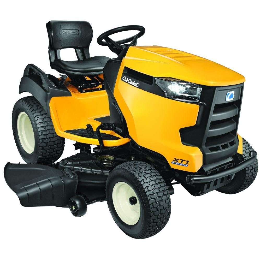 Cub Cadet XT1 Enduro Series GT 50 in  25-HP V-Twin Kohler Hydro Gas Garden  Tractor with Cub Connect App - California Compliant