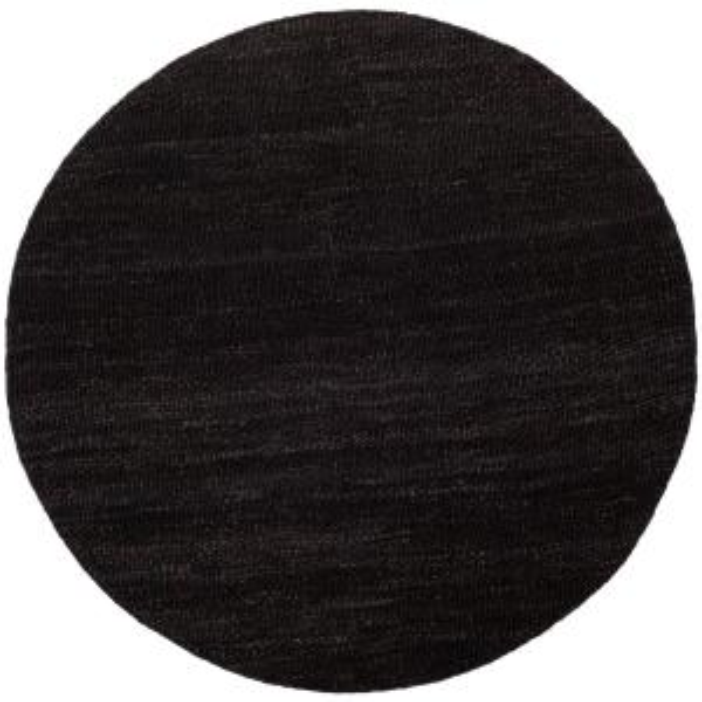 Safavieh Natural Fiber Black 6 Ft X 6 Ft Round Area Rug