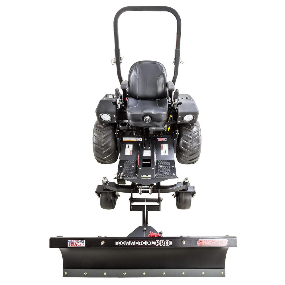 swisher front mount plow blade bo attachment 21000 the home depot Swisher Universal ATV Plow Blade swisher front mount plow blade bo attachment