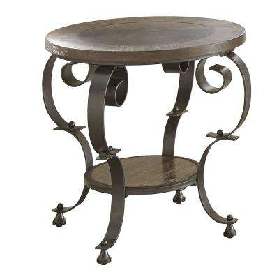 Mulberry Round End Table