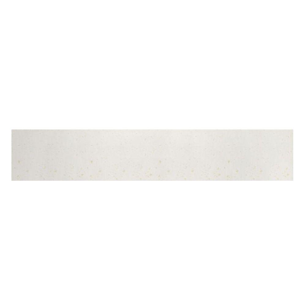 Swanstone 61 in. Solid Surface Front Apron in Baby's Breath-DISCONTINUED