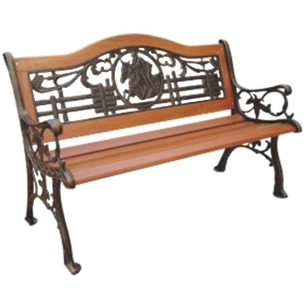 Polo Patio Park Bench