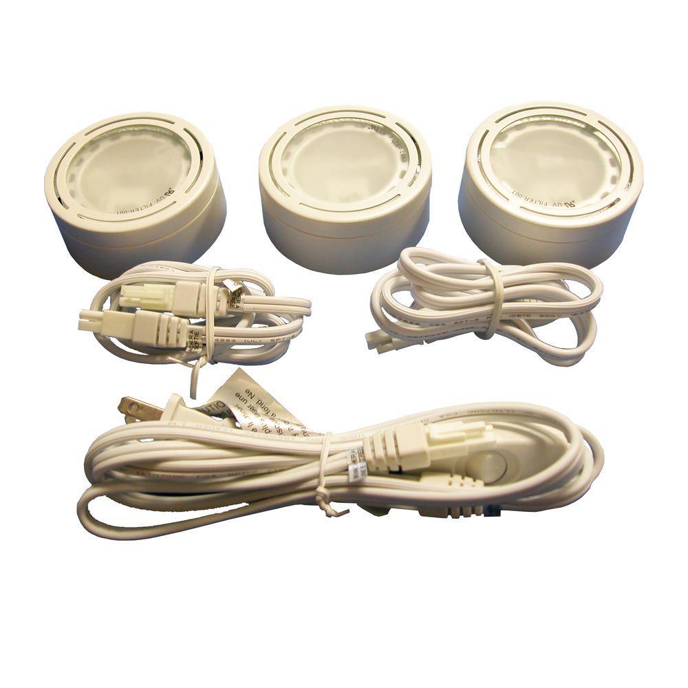 Illume Lighting 60-Watt 3 Xenon White Metal Puck Kit