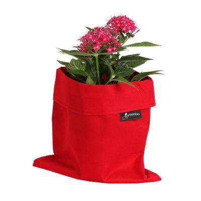 8 in. x 10 in. Red Water and Stain Resistant Fabric Fiorina Planter Case (2 pack)