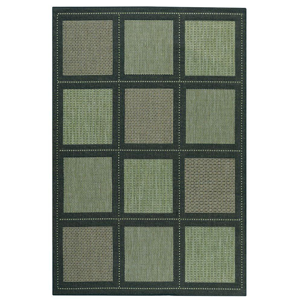 Home Decorators Collection Summit Green 8 ft. 6 in. x 13 ft. Area Rug