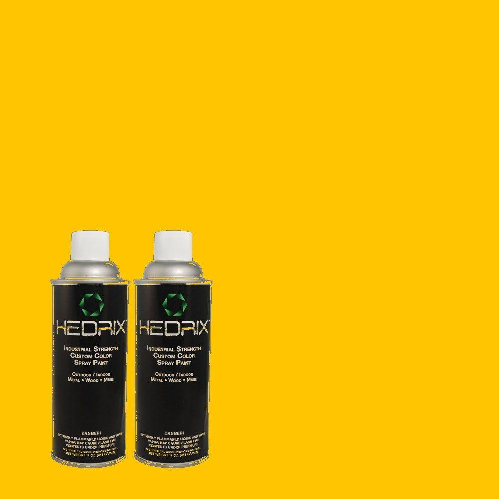 Hedrix 11 oz. Match of 360B-7 Center Stage Low Lustre Custom Spray Paint (2-Pack)
