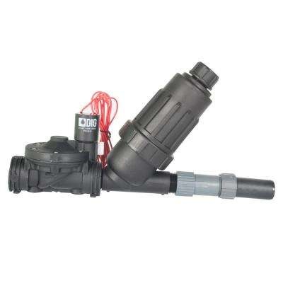 24 VAC Powered Drip Zone Valve Assembly