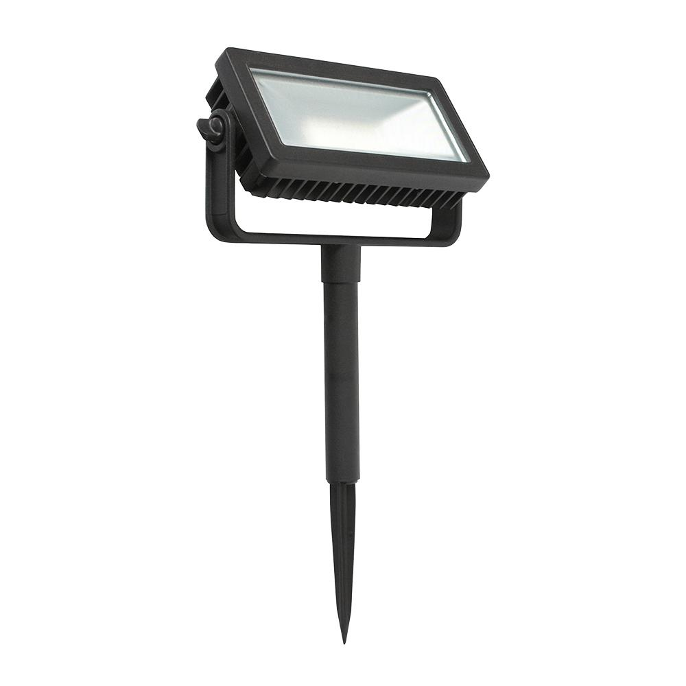 Hampton Bay Low Voltage Black Outdoor Integrated LED