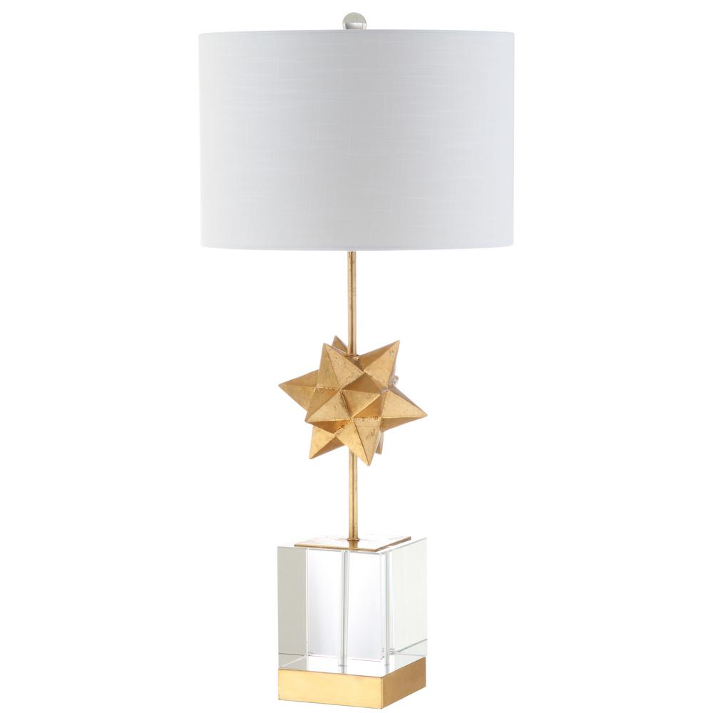 Jonathan Y Ashley Gold Star 33 In Crystal Table Lamp