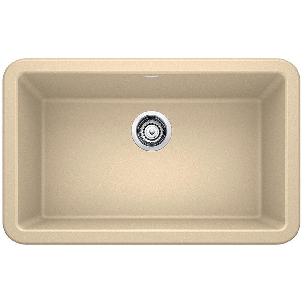 IKON Farmhouse Apron Front Granite Composite 30 in. Single Bowl Kitchen Sink in Biscotti