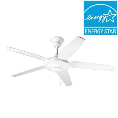 AirPro Signature 54 in. Indoor White Ceiling Fan
