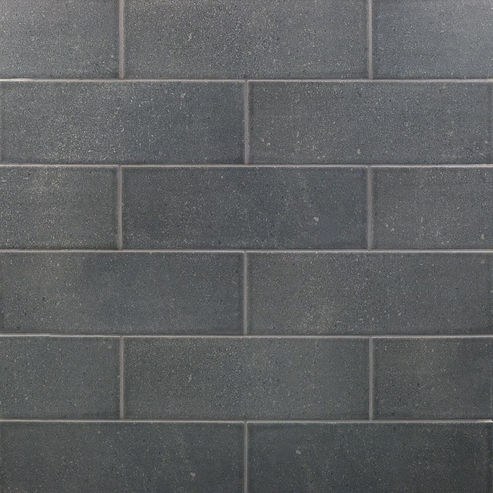Ivy Hill Tile Piston Camp Gray Rock 4 In X 12 In 7mm