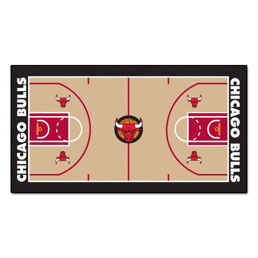 NBA Chicago Bulls 2 ft. 6 in. x 4 ft. 6