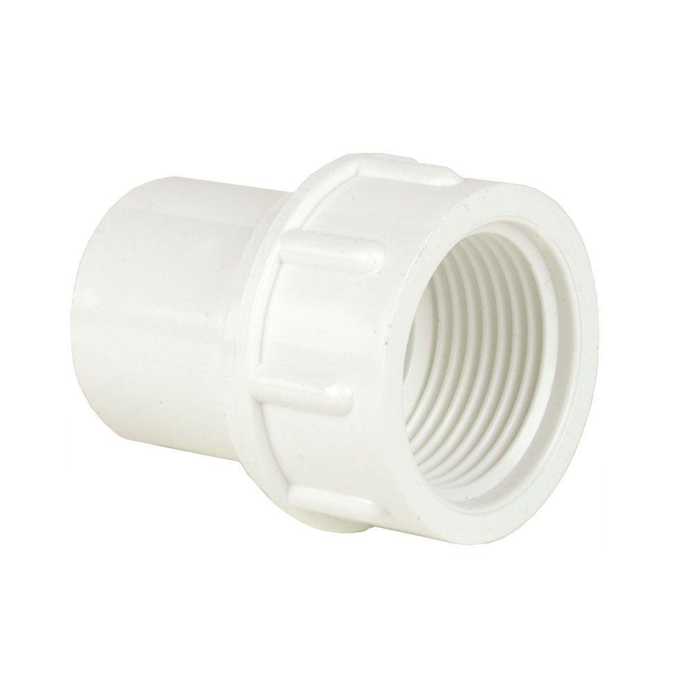 DURA 4 in. Schedule 40 PVC Female Fitting Adapter SPGxFPT