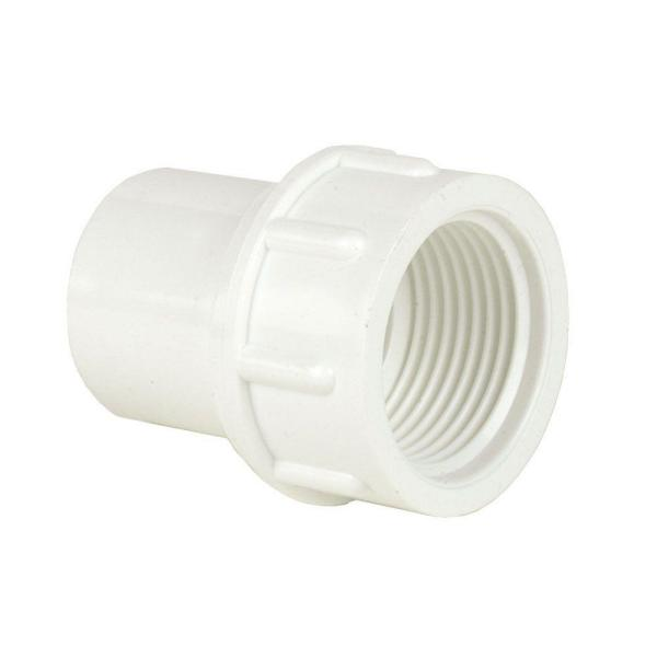 4 in. Schedule 40 PVC Female Fitting Adapter SPGxFPT