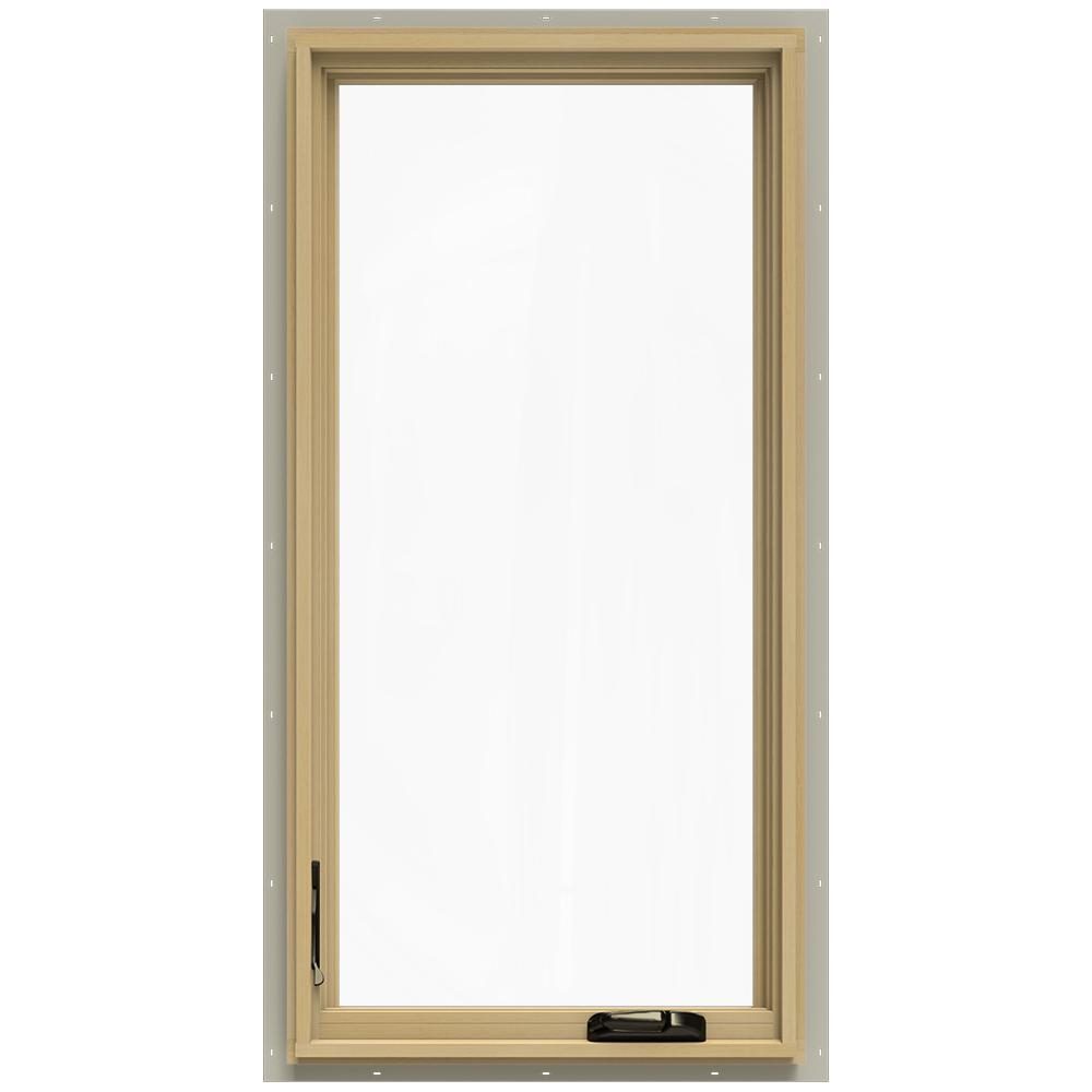 24.75 in. x 48.75 in. W-2500 Left-Hand Casement Wood Window