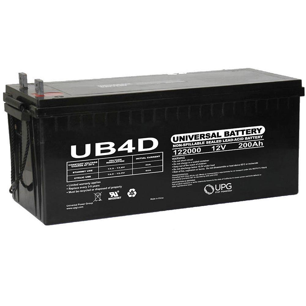 UPG 12V 200Ah L4 AGM Battery
