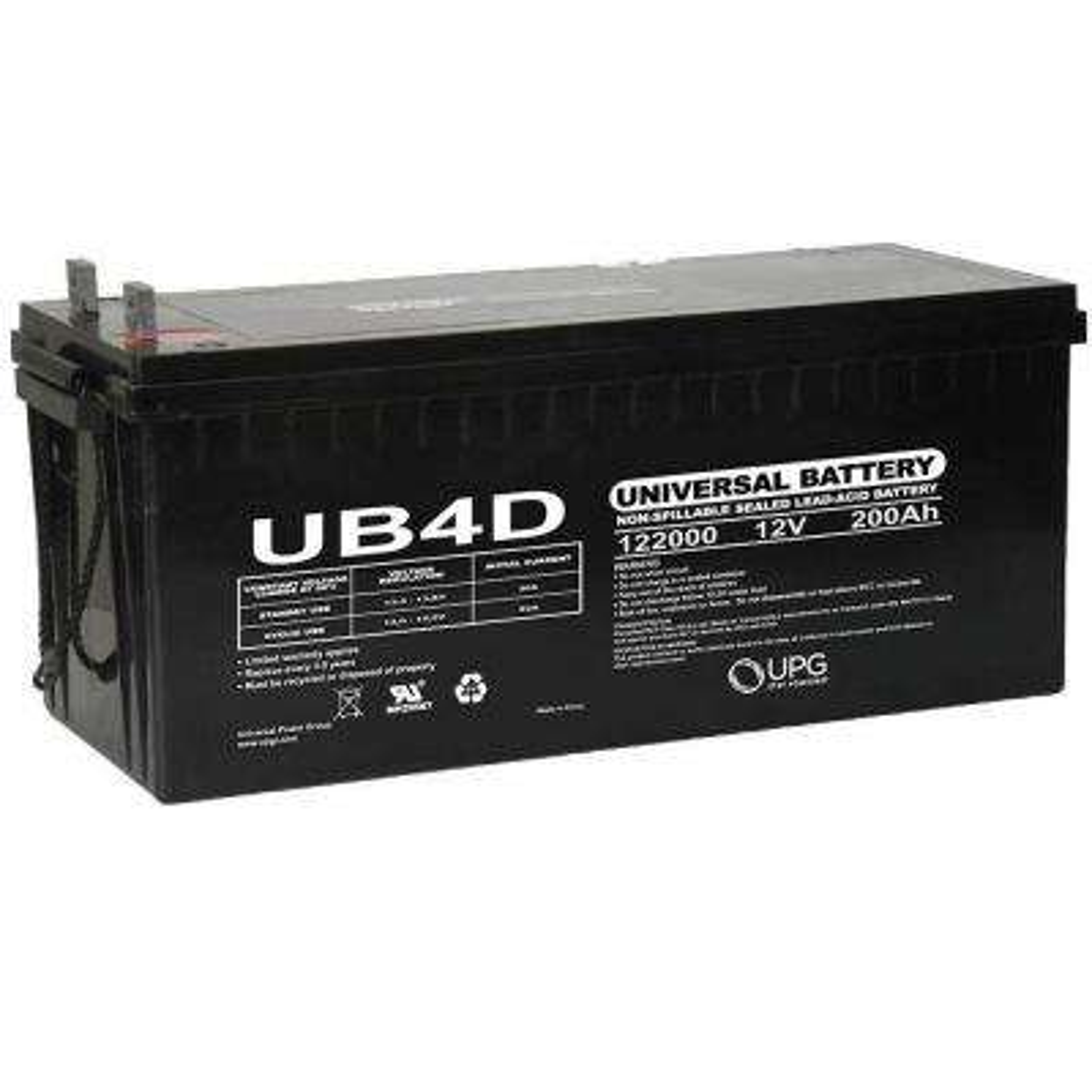 SLA 12-Volt L4 Terminal AGM Battery