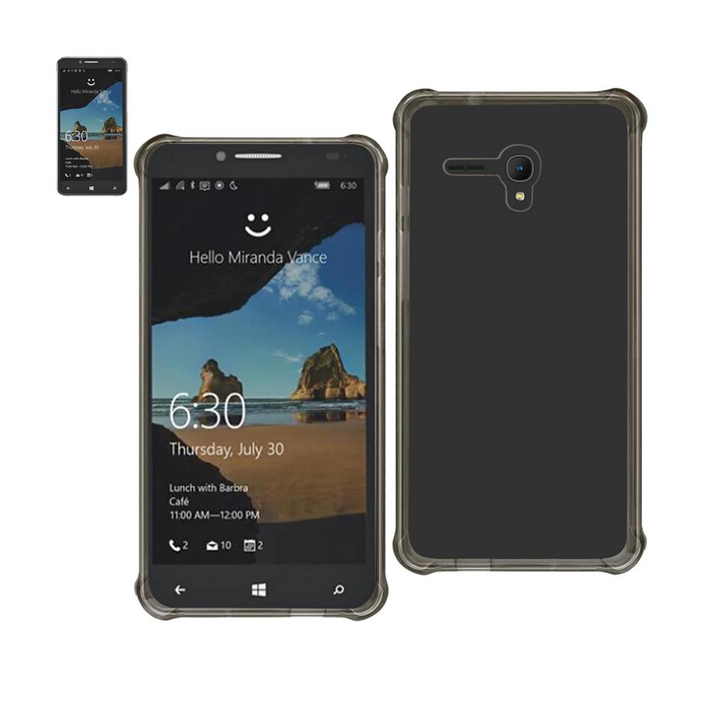 Alcatel One Touch Fierce Xl Air Cushion Case in Clear Black