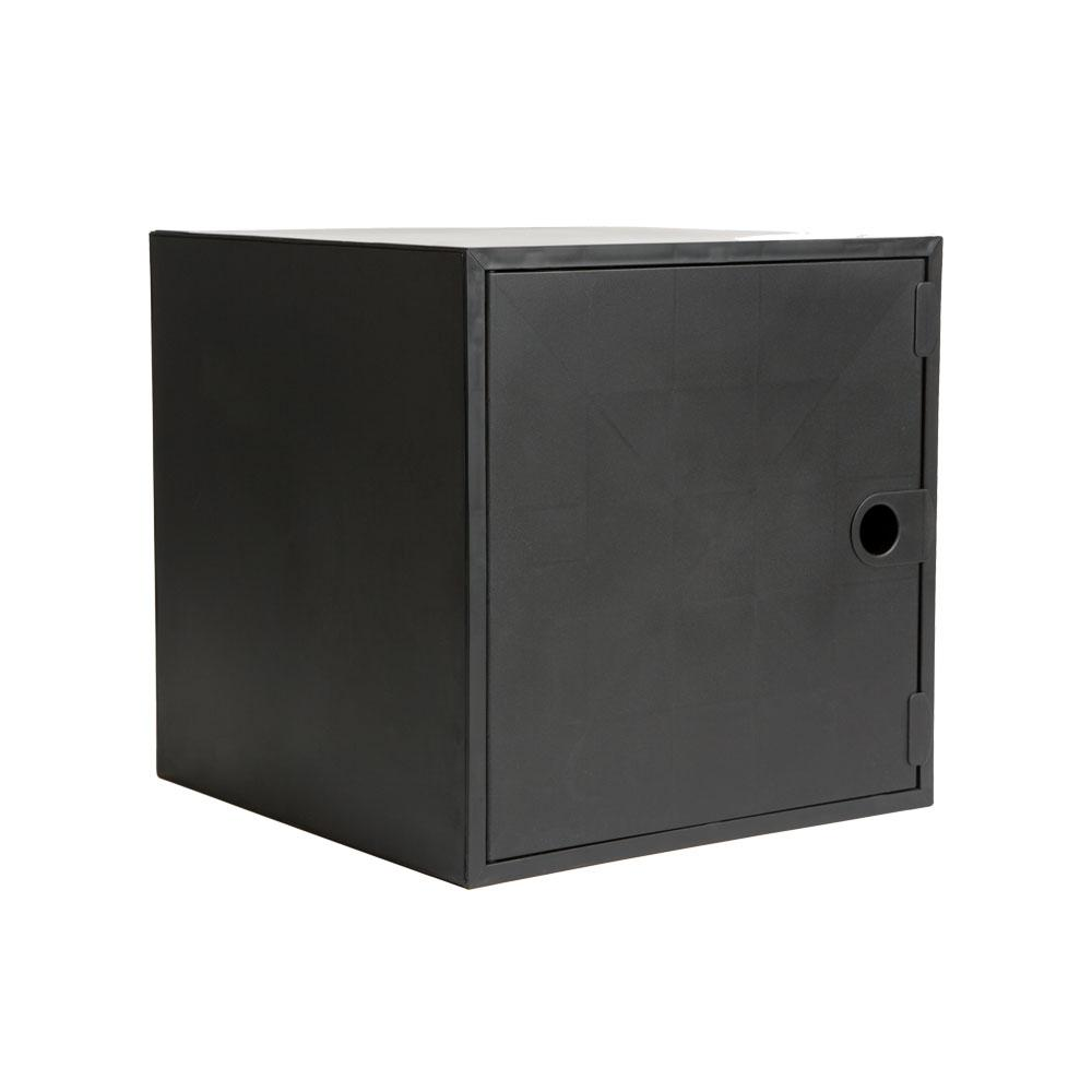 icube 12 8 in x 12 8 in black door for cube organizer cu0521 the home depot. Black Bedroom Furniture Sets. Home Design Ideas