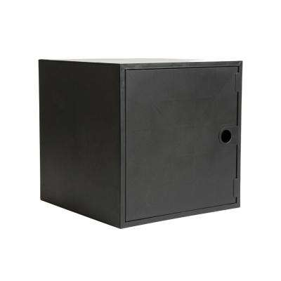 12.8 in. x 12.8 in. Black Door for Cube Organizer