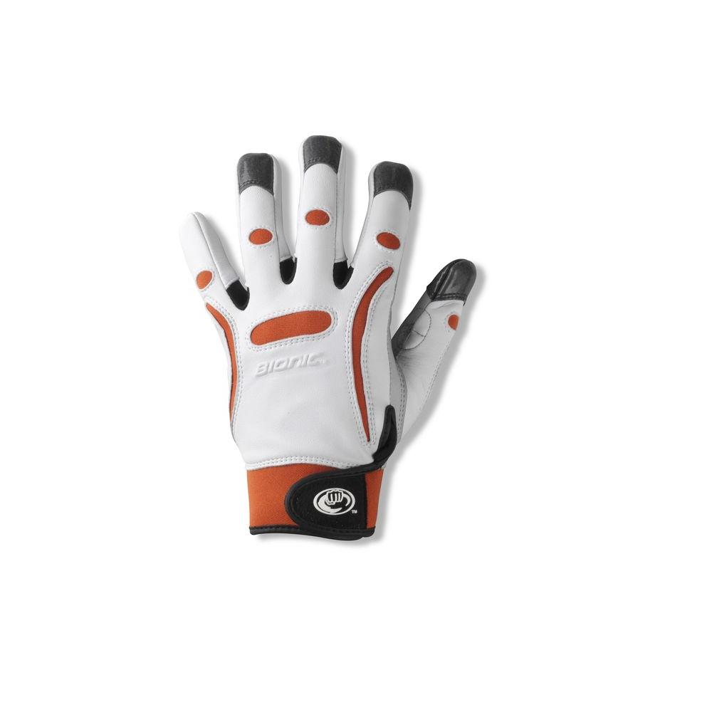 Bionic Glove Gardening Gloves Elite Women's Orange Large-DISCONTINUED