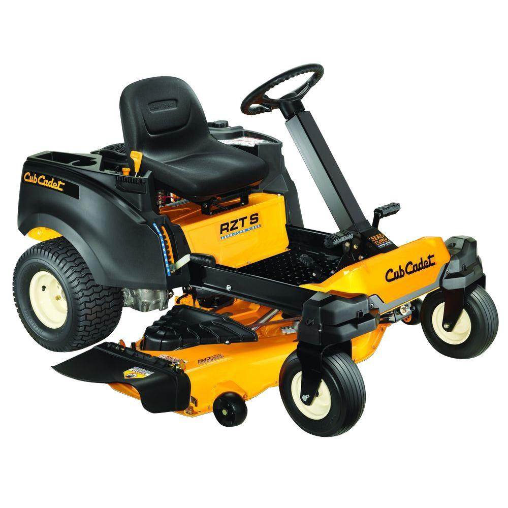 Cub Cadet RZT S 50 in. 23 HP KOHLER V-Twin Dual-Hydro Zero-Turn Mower with Steering Wheel Control