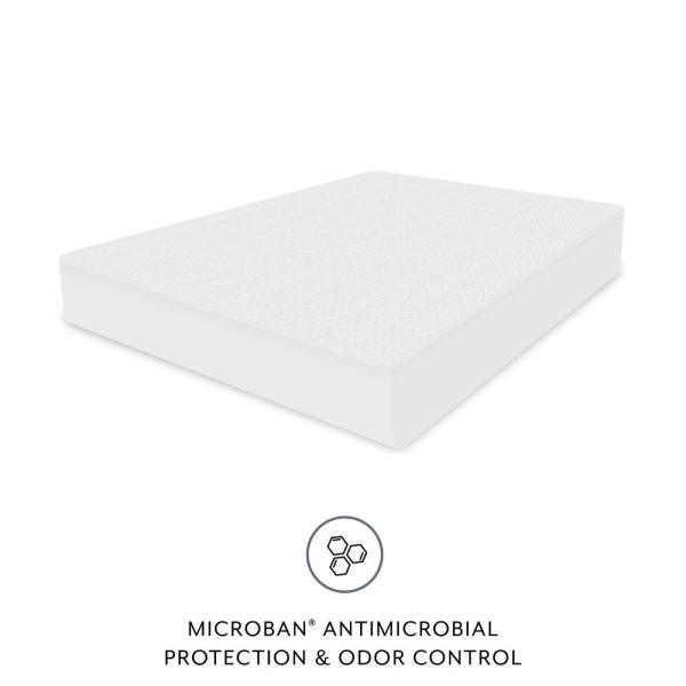 BioPEDIC Microban Performance Polyester Waterproof Queen Mattress Protector 91110