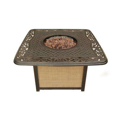 42 in. Artisan Cast-Top Fire Pit
