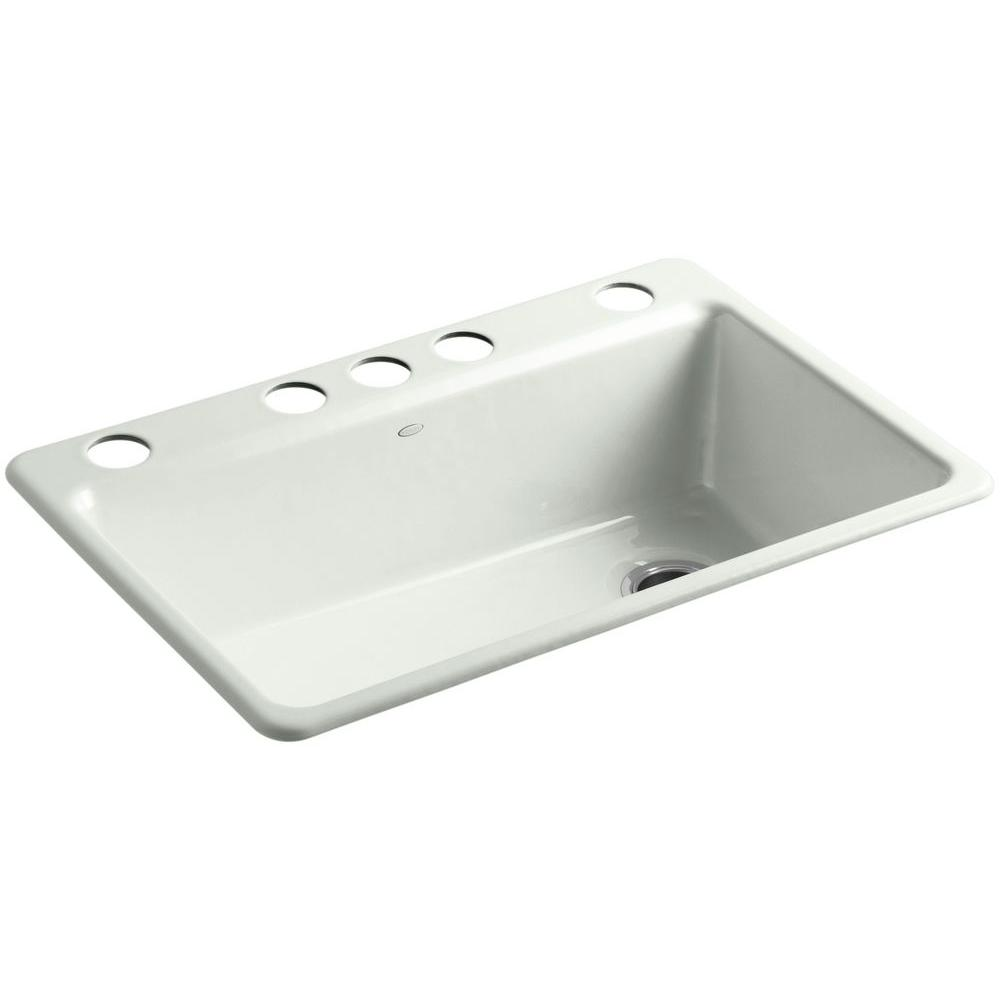 Kohler Riverby Single Bowl Undermount Kitchen Sink