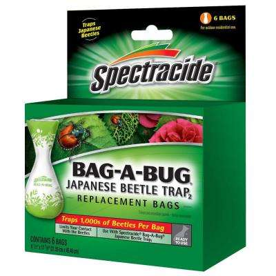 Bag-A-Bug Japanese Beetle Trap2 Replacement Bags (6-Count)