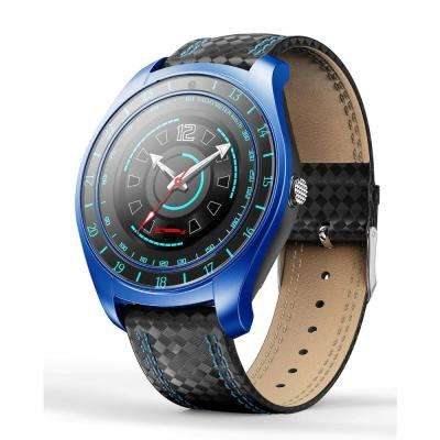 EX-7 Heavy Duty Smart Watch Blue with Camera Google Assistant