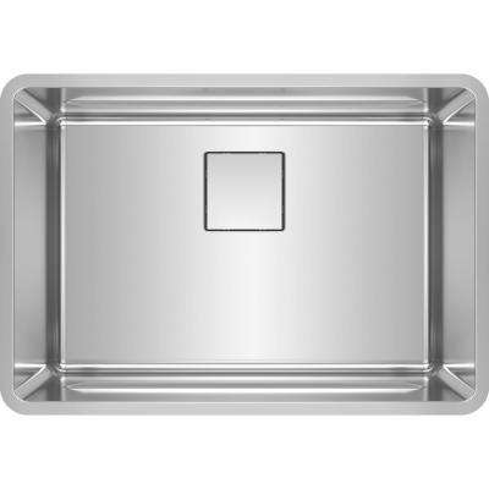 Pescara Undermount Stainless Steel 26.5 in. x 18.5 in. Single Bowl Kitchen Sink