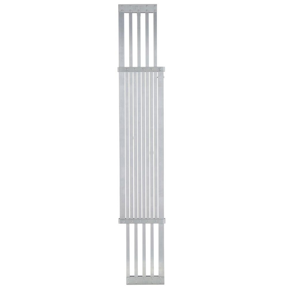 Werner 8 ft. - 13 ft. Aluminum Extension Plank with 250 lb. Load Capacity