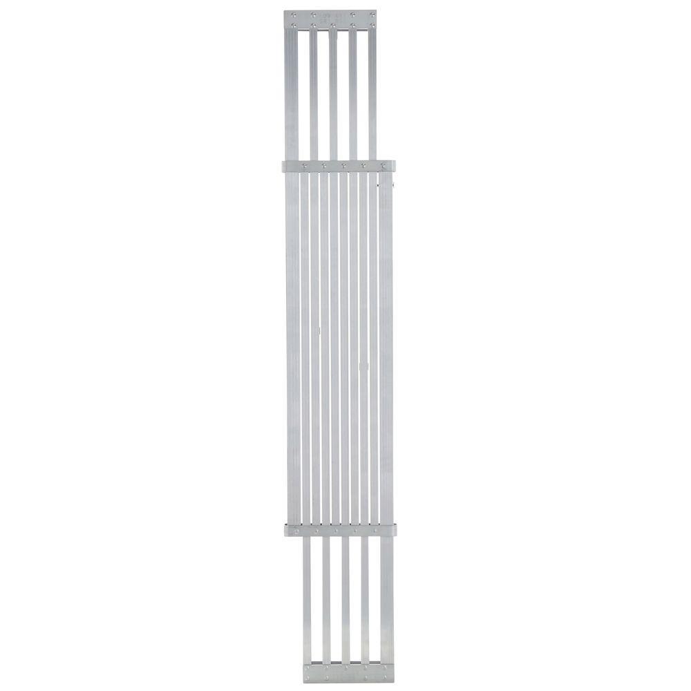 Werner 8 ft. - 13 ft. Aluminum Extension Plank