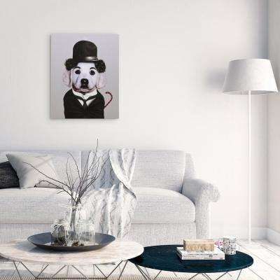 "20 in. x 16 in. ""Tramp"" Graphic Art on Wrapped Canvas Wall Art"