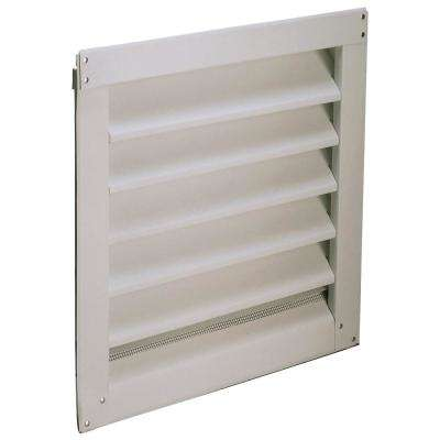 12 in. x 12 in. Aluminum Gable Mount/Wall Mount Vent (6 per Carton)