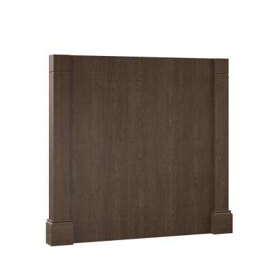 3 in. x 34.5 in. x 37.5 in. Decorative Island End Panel in Brindle