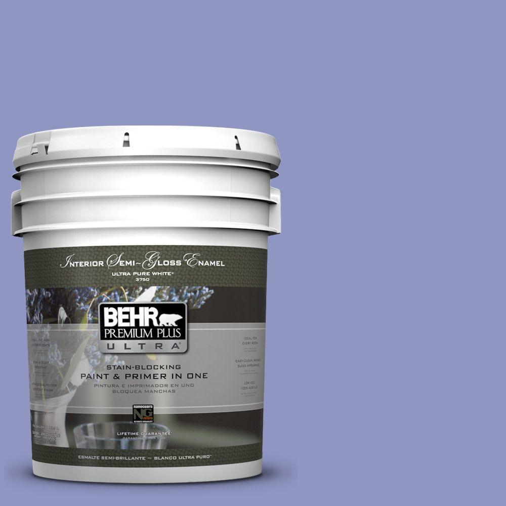 BEHR Premium Plus Ultra 5-gal. #610B-4 Intuitive Semi-Gloss Enamel Interior Paint