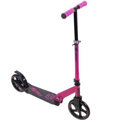 Remix Girl's Inline Scooter in Hot Pink with 200 mm Wheels