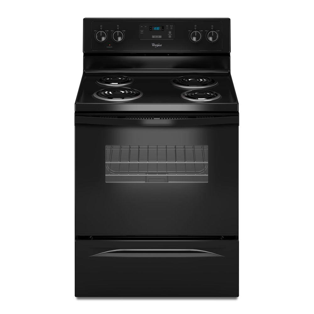 Whirlpool 4.8 cu. ft. Electric Range in Black