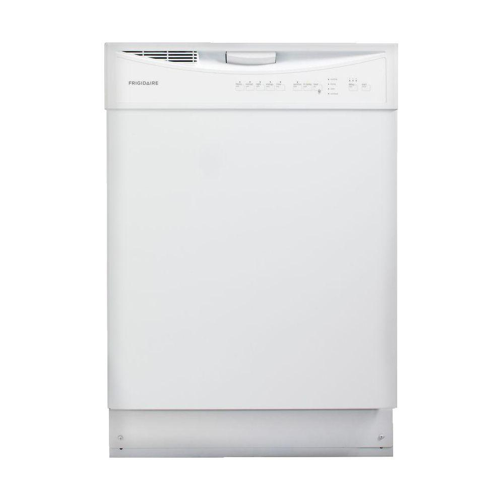 Frigidaire Front Control Dishwasher in White