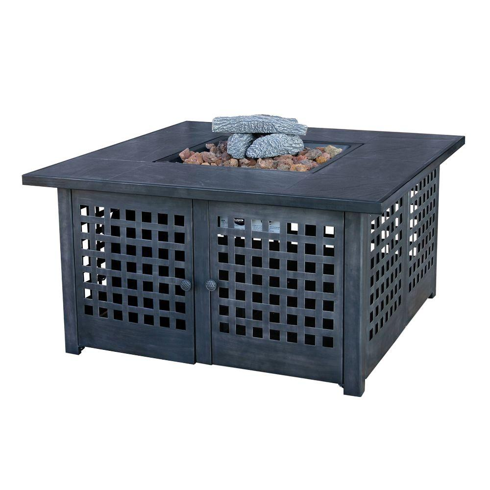 Exceptionnel UniFlame 20 In. Slate Tile Propane Gas Fire Pit