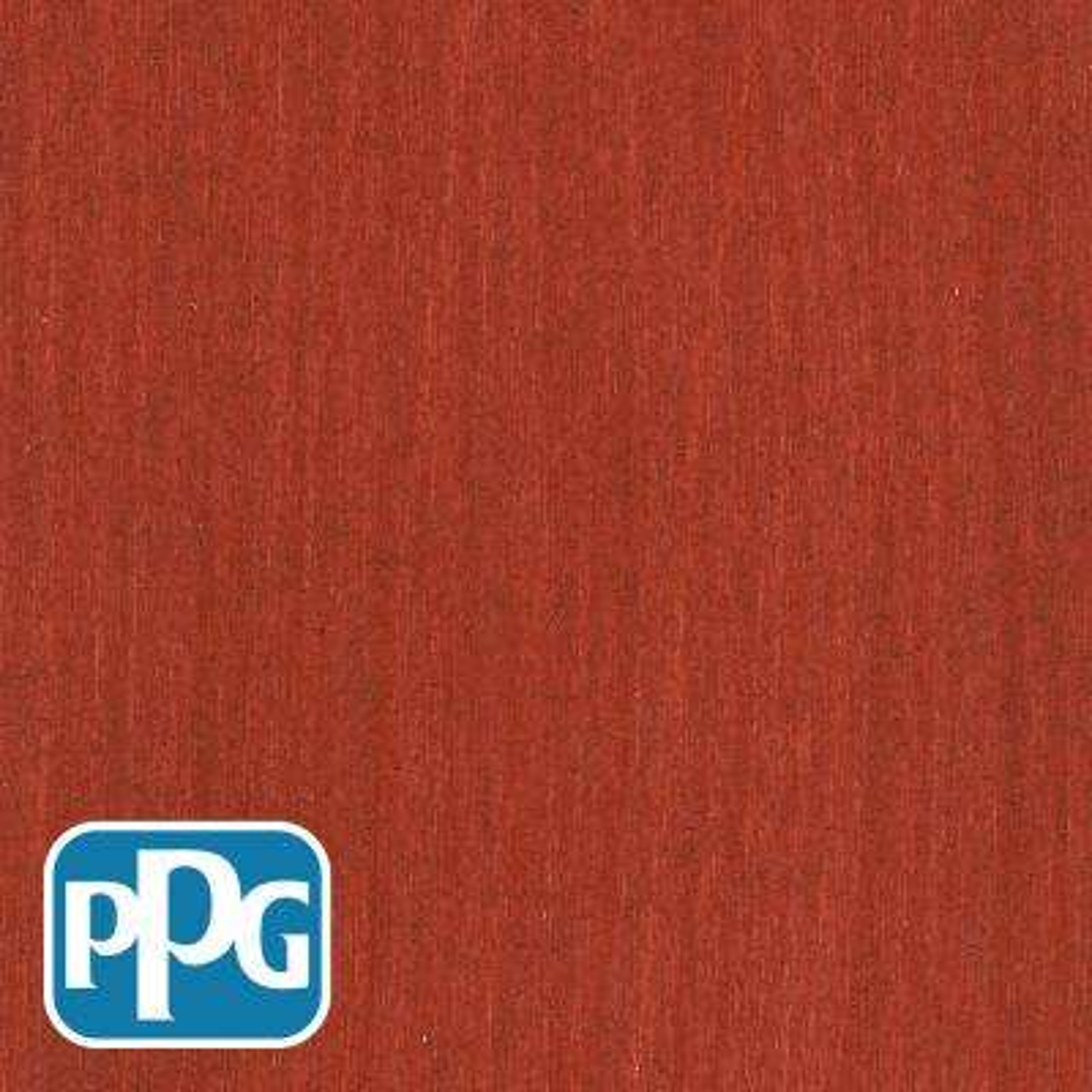 1 gal. TSN-4 Navajo Red Satin Semi-Transparent Advanced Oil Exterior Wood Stain