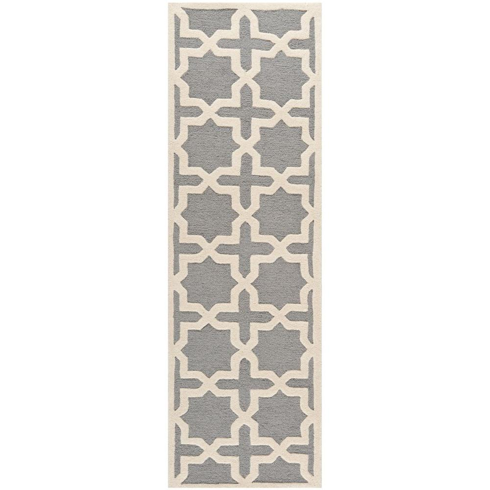 Cambridge Silver/Ivory 2 ft. 6 in. x 4 ft. Area Rug