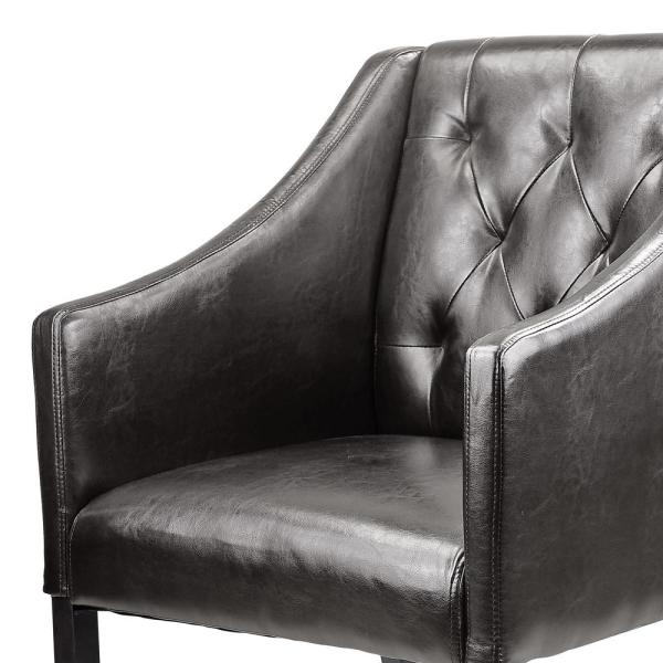 Corliving Antonio Brown Bonded Leather